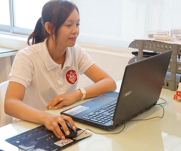 Ms. Phall Chhun - Princeton School's Administrator